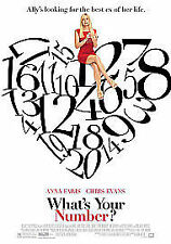 What's Your Number? (DVD, 2011)