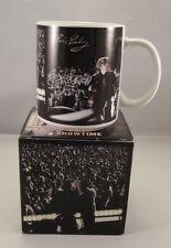 ELVIS PRESLEY Coffee Mug Concert Wertheimer Russwood Stadium Memphis TN 1997 Box