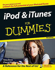 iPod and iTunes For Dummies by Cheryl Rhodes, Tony Bove (Paperback, 2006)