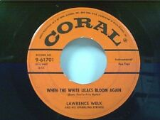 "LAWRENCE WELK ""WHEN THE WHITE LILACS BLOON AGAIN / TONIGHT YOU BELONG TO ME"" 45"