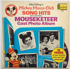 Vintage - 1975 Walt Disney's Mickey Mouse Club Song Hits LP VG
