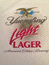 Yuengling Light Lager Trappe Tavern White Short Sleeve T-Shirt Size XL