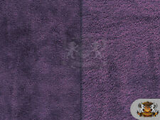 "Minky Cuddle Double Sided Fleece Fabric 25 PURPLE / 54"" Wide / Sold by the yard"