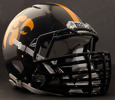 "***CUSTOM*** IOWA HAWKEYES ""ANF"" Riddell Revolution SPEED Football Helmet"