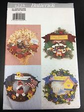 Butterick #4225 No-Sew Four Seasonal Wreaths