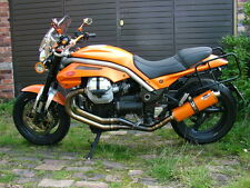 Moto Guzzi Griso Orange oval single outlet Road Legal MTC Exhaust