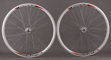 New Weinmann DP18 Deep V Silver 36 Hole Track Bike Fixed Gear Wheels Wheelset
