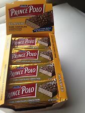 Prince Polo Classic Dark Chocolate Wafer Candy Bar (32 Bars)
