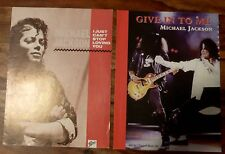 Michael Jackson sheet music Give In To Me & I Just can't stop loving you Guitar