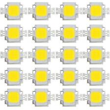 20pcs 10W High Power 38mil LED SMD bead Chip bulb DIY DC9-12V Cool white