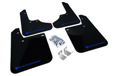 RallyArmor Basic Mud Flaps (Blue Logo) for 93-01 Subaru Impreza