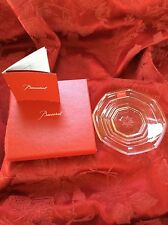 NEW NIB FLAWLESS Exceptional BACCARAT Harcourt Crystal TRAY DISH BOWL PLATE