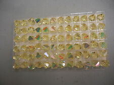 full box,72 swarovski vintage crystal beads,10mm jonquil AB #5301
