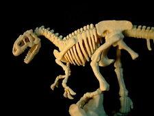Retired Allosaurus Dinosaur Skeleton PVC Figurine Figure Model