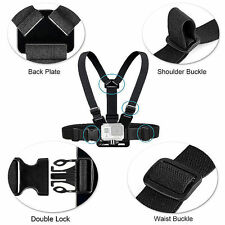 Adjustable Elastic Chest Strap Harness Mount Holder for Go Pro Hero 1/2/3/3+/4