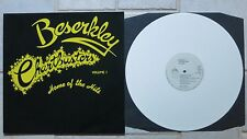 Beserkley Chartbusters Volume One LP WHITE WAX  Line / Beserkley ‎– BELP 4.00489