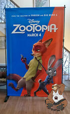 Zootopia and The Finest Hours Disney 8' x 5' Giant Vinyl Two-Sided Movie Banner