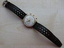 Vintage Heuer Chronograph watch pre carrera gold capped!!