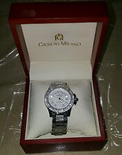 Brand New Giorgio Milano Women's Watch with Swarovski Crystals