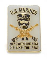 Wholesale Lot of 12 USMC Marines Special Forces Lapel Hat Pin Military PPM39