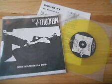 "7"" va Mercury 4 ° F/coup split 7"" (2) chanson project Dark (yellow vinyle)"