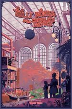 Willy Wonka and the Chocolate Factory by Laurent Durieux Poster Print #d of 345