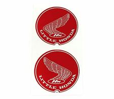 "1967 - 1968 ""Little Honda"" Honda P50 Frame Wing Decal Set ✰ Red Decals ✰"