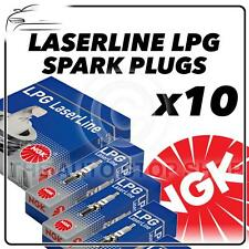 10x NGK SPARK PLUGS Part Number LPG5 Stock No. 1516 New LASERLINE LPG SPARKPLUGS