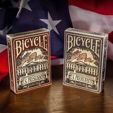 1 Deck Bicycle US Presidents Red Standard Poker Playing Cards Brand New Deck