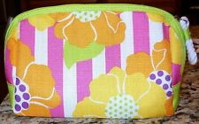 Clinique Cosmetic Travel Floral Bag New