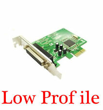1-port DB25 Parallel LPT1 Port PCI-Express Card With Low Half Profile Bracket
