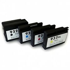 Set of 4 932XL 933XL High Capacity Ink For HP OfficeJet 6100,6600,Officejet 6700