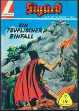 Sigurd Der ritterliche Held Nr.181 mit Club-Sammelmarke - TOP ORIGINAL LEHNING