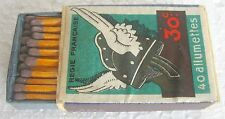 30:c REGIE FRANCAISE 40 ALLUMETTES - SAFETY MATCHES, MADE IN SWEDEN