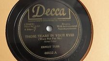 Ernest Tubb – 78rpm single 10-inch – Decca #46032 How Can I Be Sure