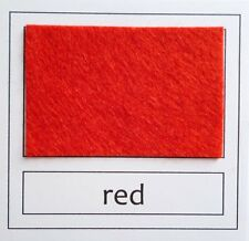 MINI ROLL of Premium Wool Blend Felt 40% wool, 60 colours to choose from
