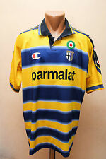 PARMA ITALY 1999/2000 HOME FOOTBALL SHIRT JERSEY MAGLIA CHAMPION VERON ERA