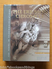 THE ERICSSON CHRONICLES 125 YEARS OLD TELEPHONE TELEFONO VECCHIO STORIA HISTORY
