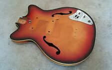 60's Teisco Hollowbody Guitar Body Project