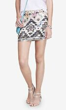 NWT Express Size S Women Sequin Embellished Mini Skirt