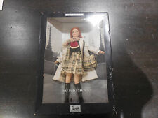 NEW BURBERRY 2000 Barbie Limited Edition RED HAIR RARE #29421 Mattel