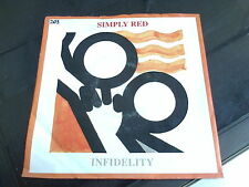 SIMPLY RED - INFIDELITY - 7'' SINGLE