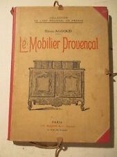 portfolio MOBILIER PROVENCAL HENRI ALGOUD  44 PLANCHES N/B