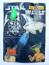RARE STAR WARS & STAR TREK MICRO MACHINES SHIPS MADE IN MEXICO RUBBER # 2