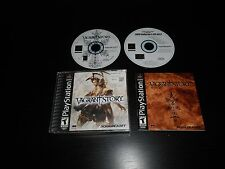 Vagrant Story Complete Playstation 1 PS1 Game CIB Black Label w/ Demo Nice