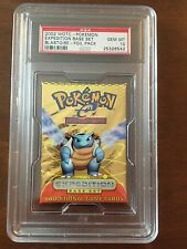 Pokemon PSA 10 Expedition Booster Pack BLASTOISE Artwork-POP 1 Of 1 Only One!