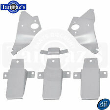 67-68 Mustang Fastback Interior Roof Support BRACKET Set  -  6 Pieces