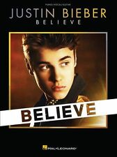 Justin Bieber Believe BOYFRIEND As Long As You Love Me Piano Guitar Music Book