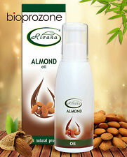 Almond Oil 100% Natural Stimulates Hair Growing And Strenghtening 100ml, Rivana