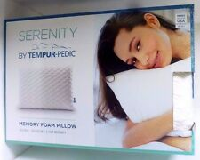 Serenity by Tempur-Pedic Memory Foam Bed Pillow, New, Store Display, Free Ship